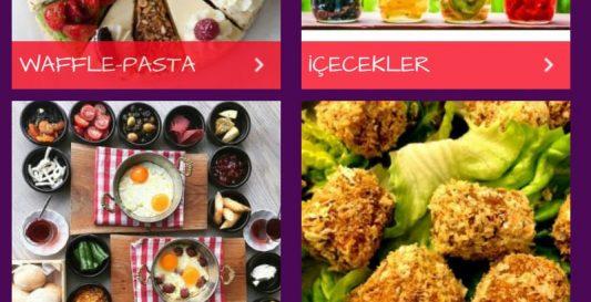 Kategori E-tablet Menü